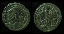 Ancient Coins - Maxentius, AD 308-312, 21mm, AE half-follis (2.40g), Ostia, 309-312. Rare!