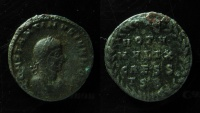 Ancient Coins - Constantine II AE3. 318-319 AD. Thessalonica mint