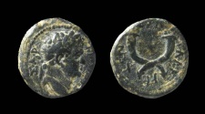 Ancient Coins - Decapolis, Gadara. Titus. AE 16 mm