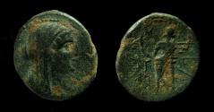 Ancient Coins - Phoenicia, Marathos. Berenike II, AE 23 mm. 2nd century BC.