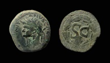 Ancient Coins - Syria, Antioch. Domitian, 81-96 AD. AE 29 mm.