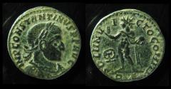 Ancient Coins - Constantine I, AE follis, Rome. 318 AD. Rare!