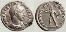 Ancient Coins - SEVERUS ALEXANDER, DENARIUS, ROME MINT, JUPITER, RIC 235