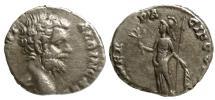 Ancient Coins - CLODIUS ALBINUS, DENARIUS, ROME MINT, MINER PACIF COS II, RIC 7,SCARCE