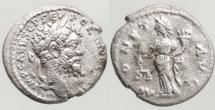 Ancient Coins - SEPTIMIUS SEVERUS, DENARIUS, EMISA MINT, MONETA, RIC 411a