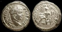 Ancient Coins - CARACALLA, DENARIUS, CONCORDIA, ROME MINT, AD 210
