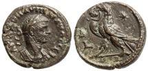 Ancient Coins - AURELIAN, ALEXANDRIA, EGYPT, TETRADRACHM, YEAR 4, MILNE 4381