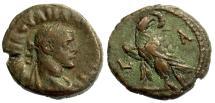 Ancient Coins - MAXIMIANUS I, TETRADRACHM, ALEXANDRIA IN EGYPT, YEAR 1, MILNE 4788
