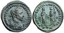 Ancient Coins - Diocletian PROVIDENTIA DEORVM QVIES AVGG from Trier