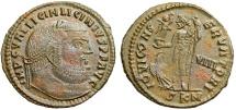 Ancient Coins - Licinius I IOVI CONSERVATORI from Cyzicus