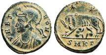 Ancient Coins - VRBS ROMA wolf and twins from Cyzicus
