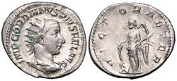 Ancient Coins - Gordian III VICTORIA AETER from Rome