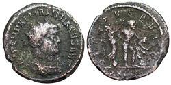 Ancient Coins - Maximianus VIRTVS AVGG from Ticinum