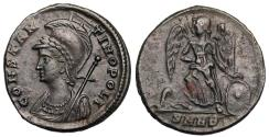 Ancient Coins - Constantinopolis victory on a prow from Nicomedia