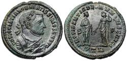 Ancient Coins - Diocletian PROVIDENTIA DEORVM QVIES AVGG from Trier…abdication issue