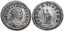 Ancient Coins -  Tacitus CLEMENTIA TEMP from Rome…Clementia leaning on column