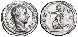 Ancient Coins - Severus Alexander PAX AVG from Rome