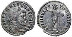 Ancient Coins - Constantine I SOL from Ticinum…Sol facing