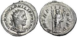 Ancient Coins - Philip I P M TR P III COS P P; Felicitas from Rome