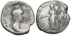 Ancient Coins - Sabina CONCORDIA AVG; Concordia from Rome