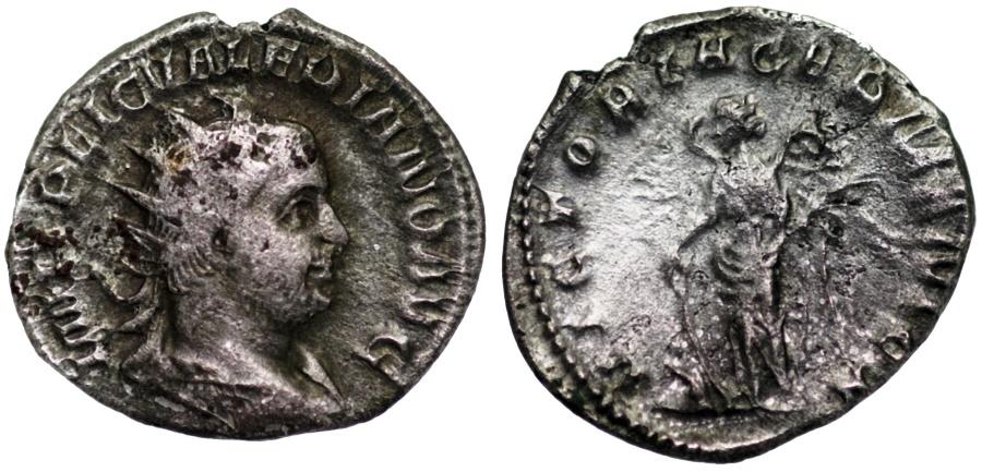 Ancient Coins - Valerian I VICTORIA GERMANICA