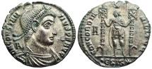 Ancient Coins - Constantius II CONCORDIA MILITVM from Siscia…minted under Vetranio