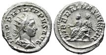 Ancient Coins - Philip II LIBERALITAS from Rome
