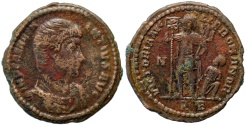 Ancient Coins - Magnentius VICTORIA AVG LIB ROMANOR from Rome…Not in RIC