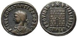 Ancient Coins - Constantius II campgate from Alexandria