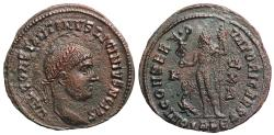 Ancient Coins - Licinius II IOVI from Alexandria…CONSTANTINVS legend