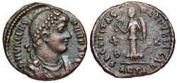 Ancient Coins - Valens SECVRITAS REIPVBLICAE from Antioch…unlisted legend PER[PETVVS]  F[ELIX]…Not in RIC