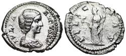 Ancient Coins - Julia Domna FELICITAS from Rome