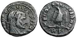 Ancient Coins -  Claudius II  Posthumous issue MEMORIAE AETERNAE from Rome