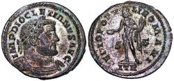 Ancient Coins - Diocletian GENIO POPVLI ROMANI from Trier