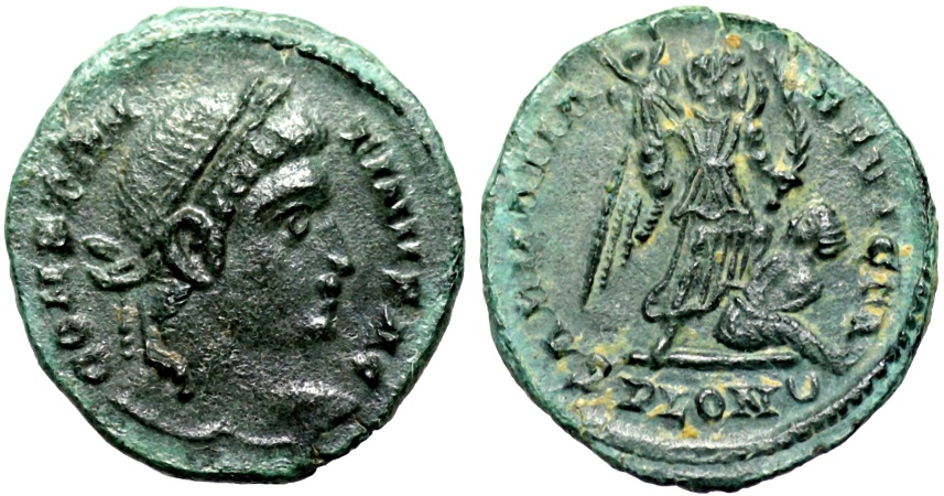 Ancient Coins - Constantine I SARMATIA DEVICTA from London