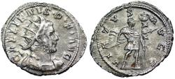 Ancient Coins - Gallienus VIRTVS AVGG from Lyons/ Cologne