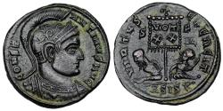 Ancient Coins - Constantine I VIRTVS EXERCIT from Siscia