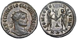Ancient Coins - Diocletian CONCORDIA MILITVM from Cyzicus