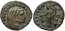 Ancient Coins - Galerius FORTI FORTVNAE Posthumous issue from Siscia
