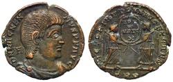 Ancient Coins - Magnentius VICTORIAE DD NN AVG ET CAES Trier 312