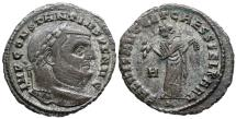 Ancient Coins - Constantius I SALVIS AVGG ET CAESS FEL KART from Carthage