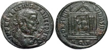 Ancient Coins - Maxentius CONSERV VRB SVAE from Aquileia…CONS II