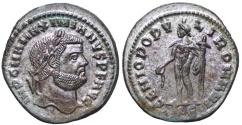 Ancient Coins - Maximianus GENIO POPVLI ROMANI from Cyzicus