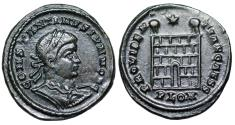 Ancient Coins - Constantine II campgate from London