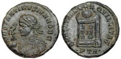 Ancient Coins - Constantine II BEATA TRANQVILLITAS from Trier…Not in RIC