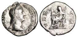 Ancient Coins - Sabina VESTA; Vesta denarius from Rome
