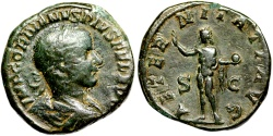 Ancient Coins - Gordian III AETERNITATI AVG from Rome