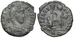 Ancient Coins - Theodosius I SPES REIPVBLICAE from Rome…ex-Dattari