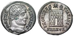 Ancient Coins - Constantine I campgate from Antioch…ex-Dattari