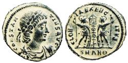 Ancient Coins - Constantius II GLORIA EXERCITVS from Antioch…Not in RIC